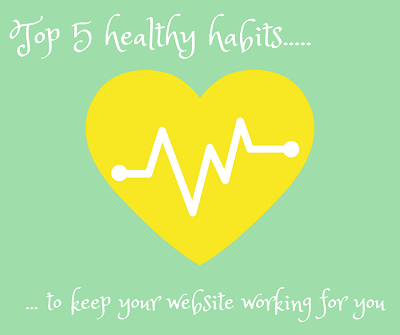 Keeping a website healthy